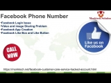 A Live Assistance Related To Technical Problems Is Provided At Facebook Phone Number 1-888-625-3058