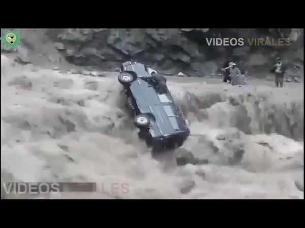 Desastres naturais flagradas por câmeras de segurança