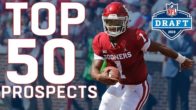 Top 50 Prospects in the 2019 NFL Draft
