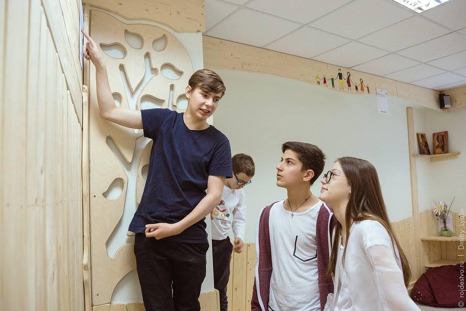 В детском центре рядом с Савеловским школьникам помогут выбрать профессию
