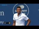 Ник Кириос отыгрывает матчбол Betting good tennis