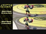 ARMS TIPS. SHORT DASHES LIMITED MOBILITY WHILE ATTACKING - Whenever you throw out an Attack, your mobility is dramatically decre
