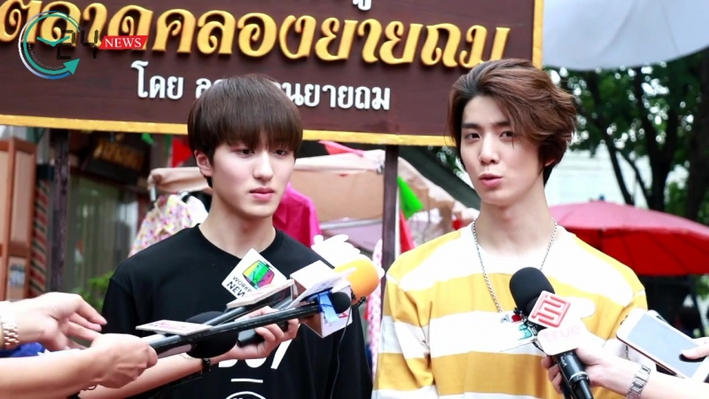 180522 'Coffee House 4.0' Interview with SF9 Hwiyoung and Chani by Twentyfournews