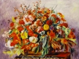 Renoirs Flowers!!! MusicBach_Courtesy of Kevin MacLeod