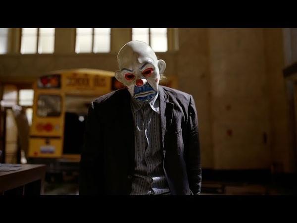 Джокер грабит банк мафии | Темный рыцарь