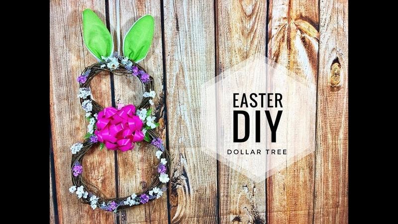 Dollar Tree Easter/ Spring DIY (Wreath Idea)