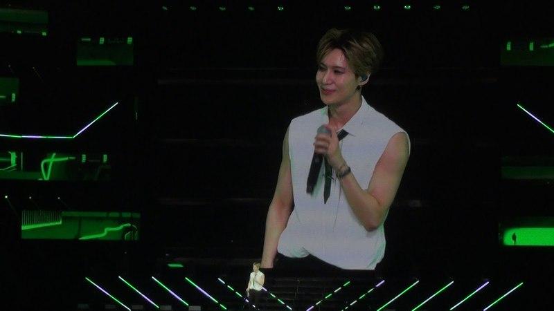 180422 BOB Taiwan 演唱會 Taemin 自我介紹 (3)