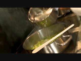 Французские рецепты от Ники Белоцерковской, суп из спаржи