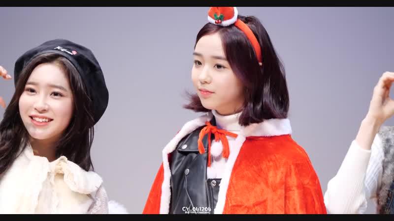 [4K] 181224 버스터즈(Busters) 채연(ChaeYeon) - 클로징 포토타임 @ 크리스마스 기념 스페셜 팬싸인회팬미팅 직캠(Fancam) by CY_041204
