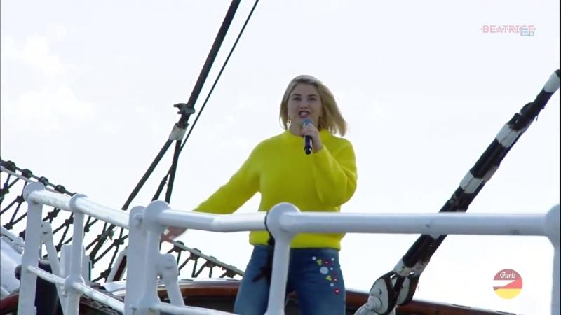 Beatrice Egli Wohlfühlgarantie ZDF Fernsehgarten on Tour 14 10 2018