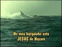 Musica meu Barquinho Editado com Lindo Video de Um barco em Mar revolto