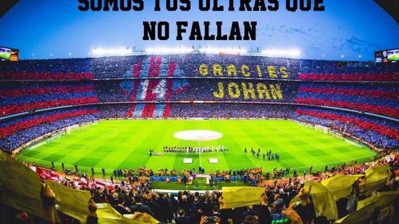 Canticos del Barça | SOMOS TUS ULTRAS QUE NO FALLAN