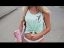 Anna Nystrom Crossfit Workout фитнес модель, красивая девушка, сексуальная девочка фитоняшки тренировки спорт занятие упражнения