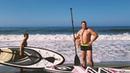 Ловим первые волны SUP надувастиками