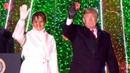 President Donald Trump, First Lady Melania Trump and Interior Secretary Ryan Zinke participated in t