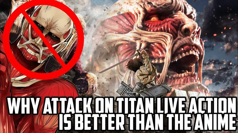 Why Attack on Titan Live Action is Better Than the Anime