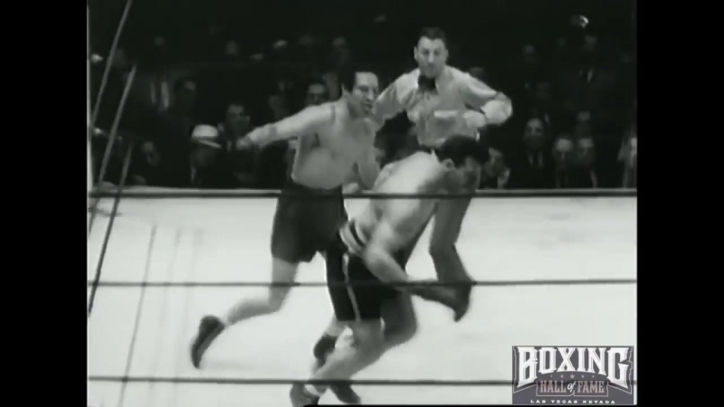 Max Baer KOs Primo Carnera -11 KNOCKDOWNS ! June 14, 1934 Heavyweight Title