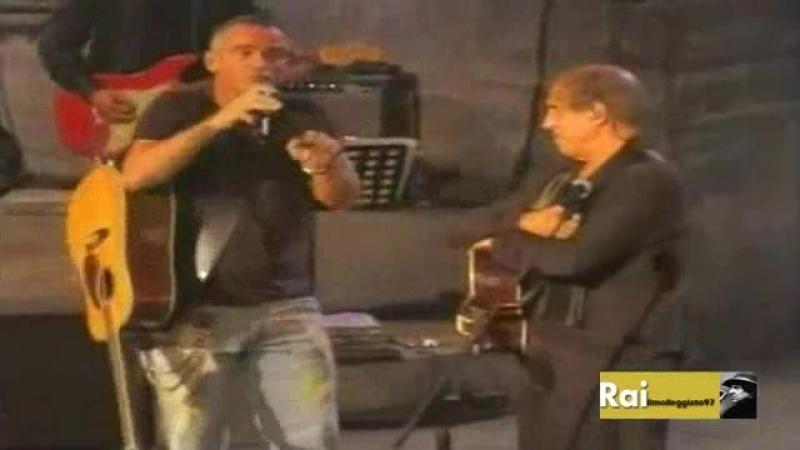 Adriano Celentano Eros Ramazzotti - Il ragazzo della Via Gluck (Rockpolitik 2005)