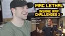 Mac Lethal - INSANE RAP CHALLENGES VOL. 2 REACTION