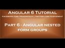 Angular nested form groups