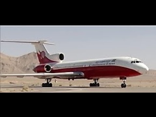 recycling TU-154 in Iran as a firefighter- آتش نشانی هوایی برای اطفا آتش سوزی