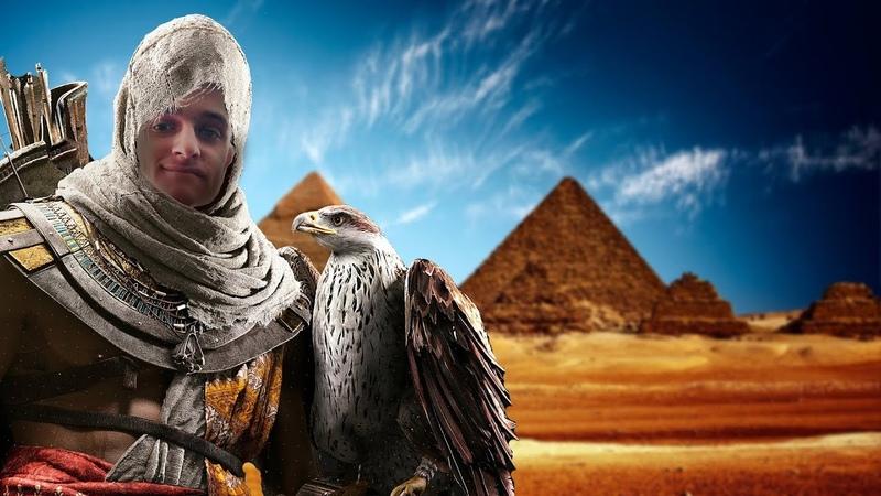 СНОГСШИБАТЕЛЬНЫЙ ассасин | Assassin's Creed Origins 1