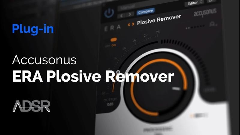 ERA Plosive Remover Instantly fix unnatural plosive thumps