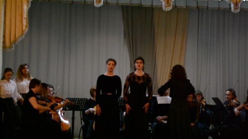 Отчётный концерт :Вокального отделения Stabat mater(6)