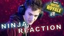 Ninja Reacts To The Fortnite Rap Battle NerdOut ft Ninja CDNThe3rd Dakotaz H2O Delirious