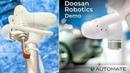 Doosan Robotics second Demo of robot model M0609, M1509, M1013, M0617 at Automate Show