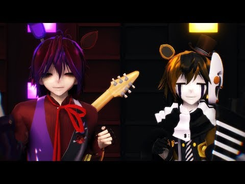 (Special 550 subs) - MMD X FNaF Mixup Incident - Blood, Sweat and Tears