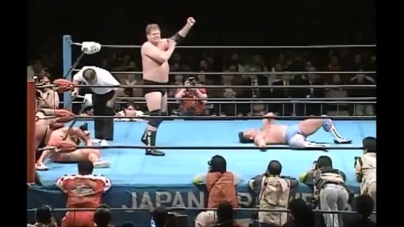 1998.11.21 - Stan Hansen/Vader vs. Kenta Kobashi/Jun Akiyama [FINISH]