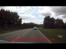 Рискованный обгон перед правым поворотом
