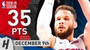 Blake Griffin Full Highlights Pistons vs Pelicans 2018 12 09 35 Pts 5 Rebounds