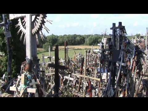 Гора Крестов Литва Шауляй 8 июля 2011 года