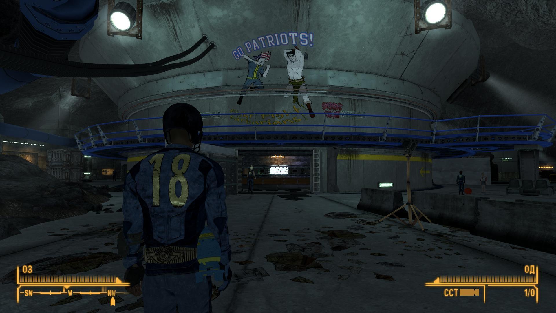 Fallout: New California с русскими субтитрами.