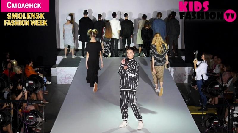 Показ коллекции бренда Amaia Корея Smolensk Fashion Week 2018 репортаж от Kids Fashion TV