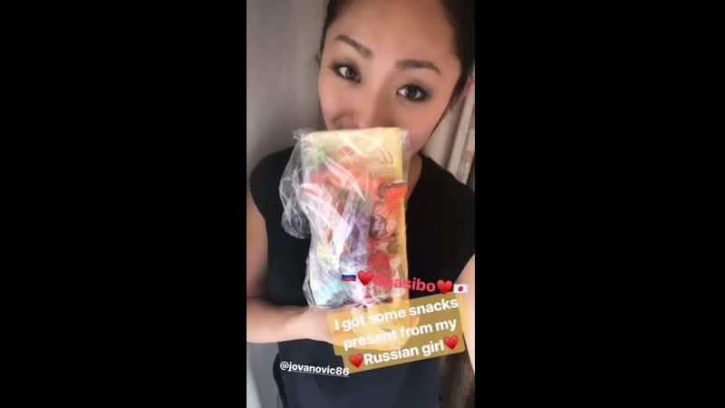 Miki ando_22_5_2019_instagram stories