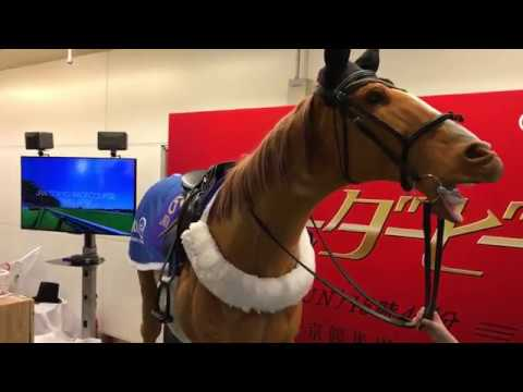 20180523 Exhibition of horse robot by JRA at Yokohama station