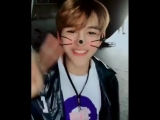 180406 Lucas (NCT) & Hyoyeon (SNSD) @ Instagram Update