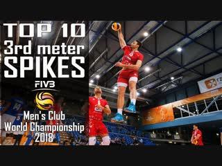 TOP 10 3rd meter SPIKES 2018 FIVB Mens Club World Championship