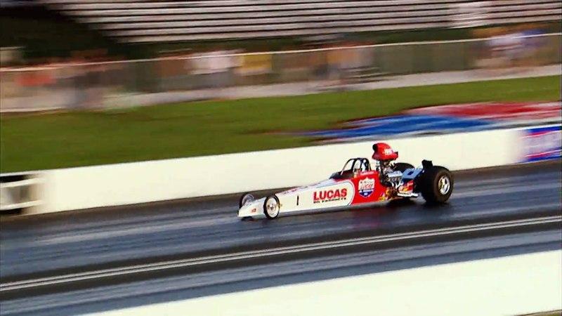 NHRA Lucas Oil Stadium Top Fuel Dragster