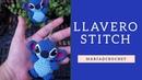 Llavero Stitch a Crochet / Aprende a tejer a Stitch, tutorial completo.