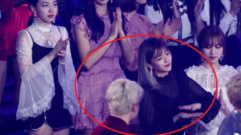 Something is Very Very Wrong between BTS JIMIN and TWICE JEONGYEON @ MGA 2018