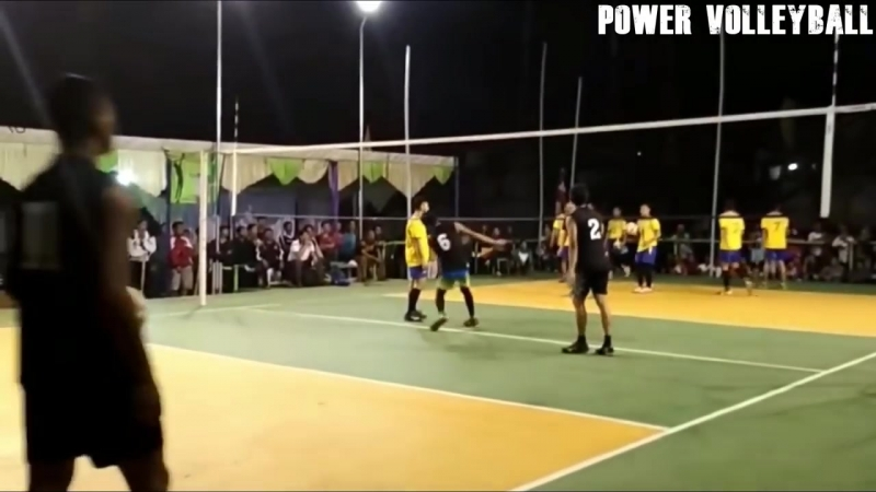 MONSTER Volleyball 3-rd Meter Spikes (HD) 5