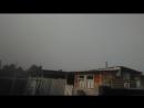 Молния и резкий ливень