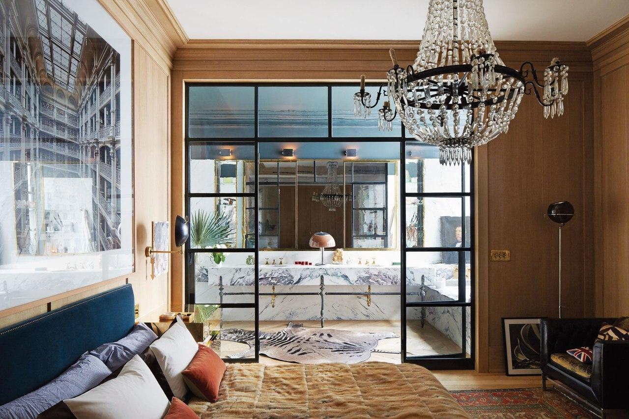 Jenna Lyons' Gorgeous Soho Loft #Жилье@design_ardz