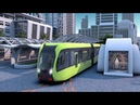 Worlds first smart rapid rail bus starts test run in central Chinas Hunan