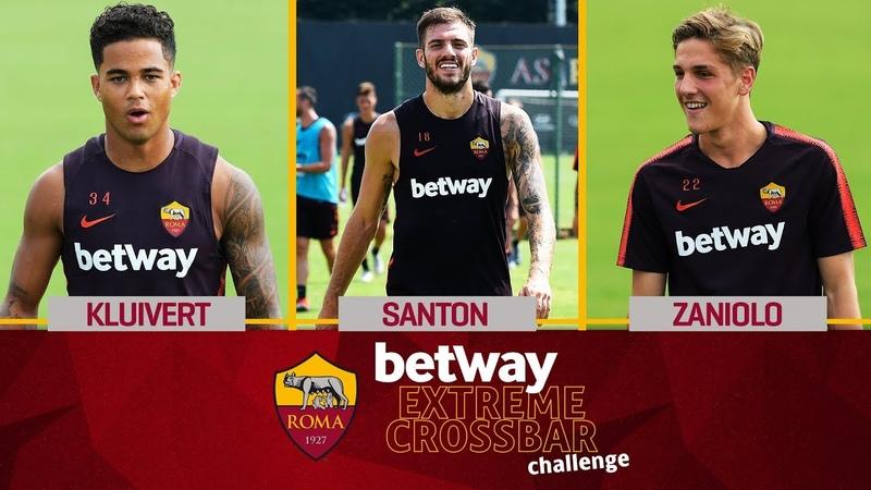 Betway Extreme Crossbar Challenge Kluivert vs Santon vs Zaniolo