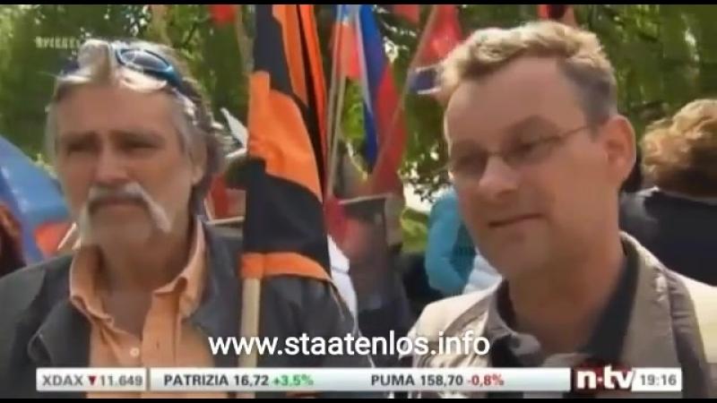 NTV-Bundesrepublik Deutschland führt das 3. Reich von Adolf Hitler weiter
